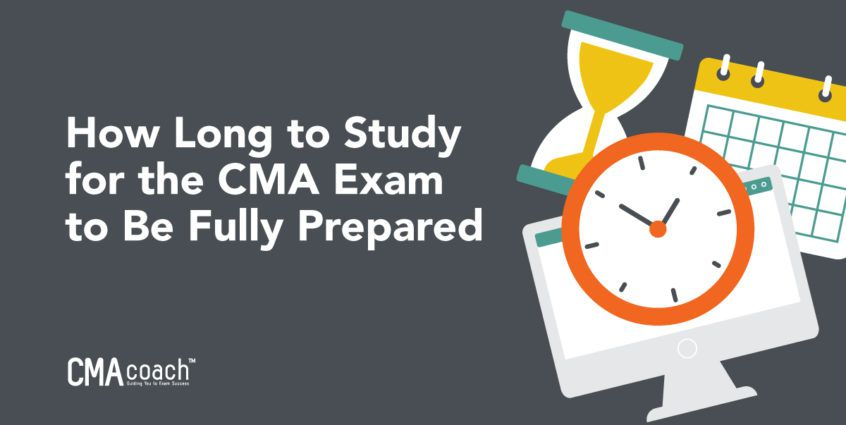 how long to study for the cma