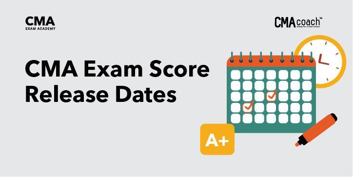 CMA Exam Score Release Dates