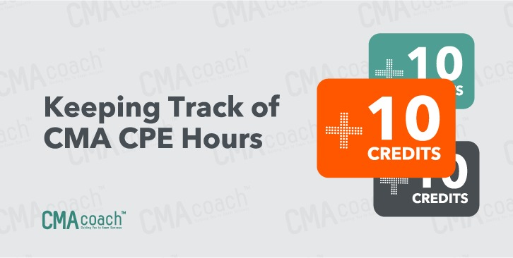 Keeping track of CMA CPE Hours