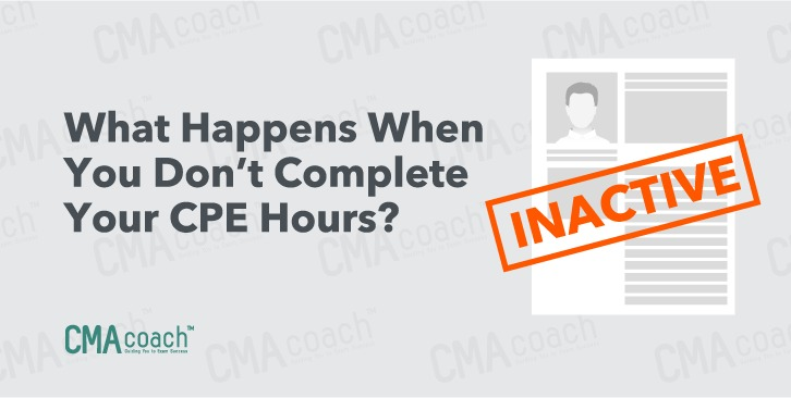 What happens when you don't complete CPE hours?