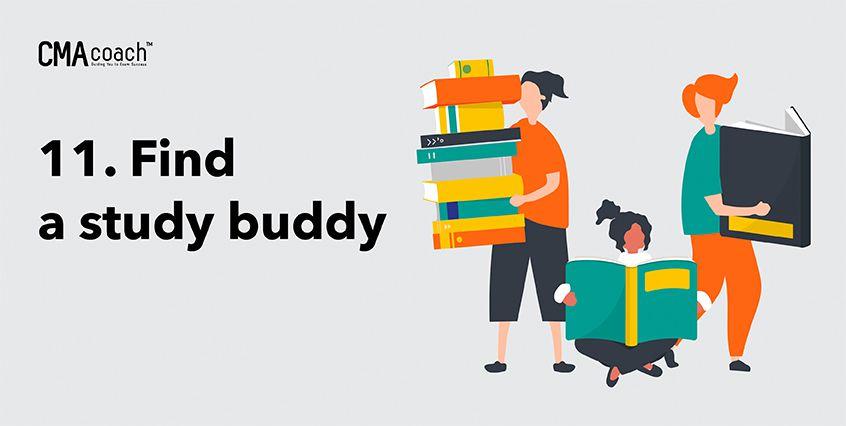 11. Find a study buddy