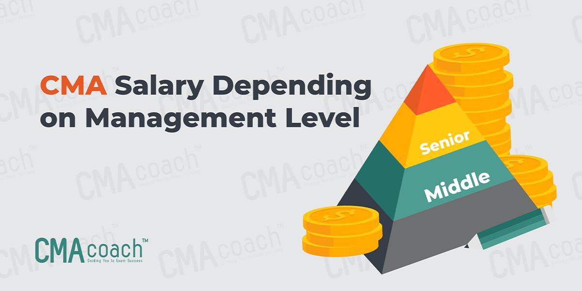 CMA Salary Depending on Management Level