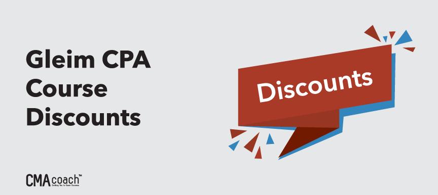 gleim cpa course discounts