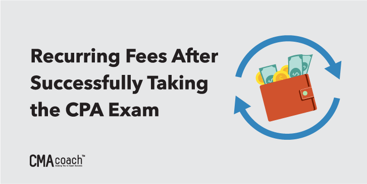 recurring fees after cpa exam