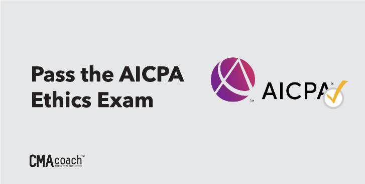 pass the AICPA ethics exam