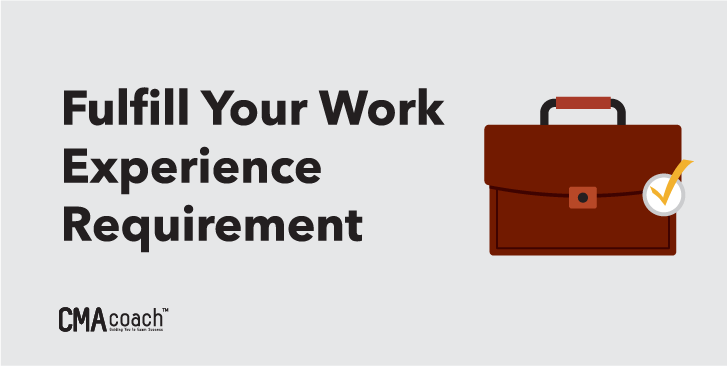 fulfill your work experience requirement