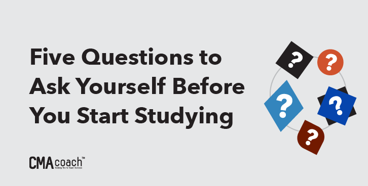 five questions to ask yourself before you start studying