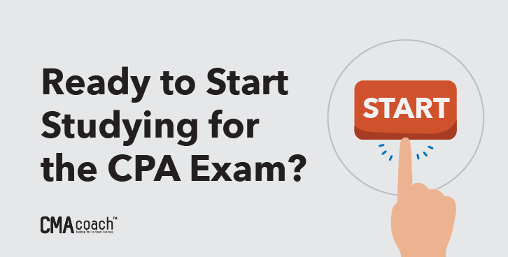 ready to start studying for the cpa exam
