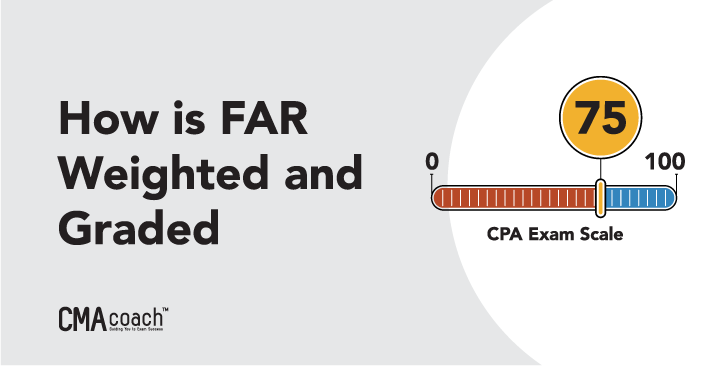 how the far cpa exam is weighted and graded