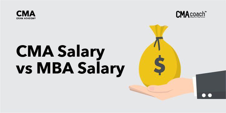 CMA Salary vs MBA Salary
