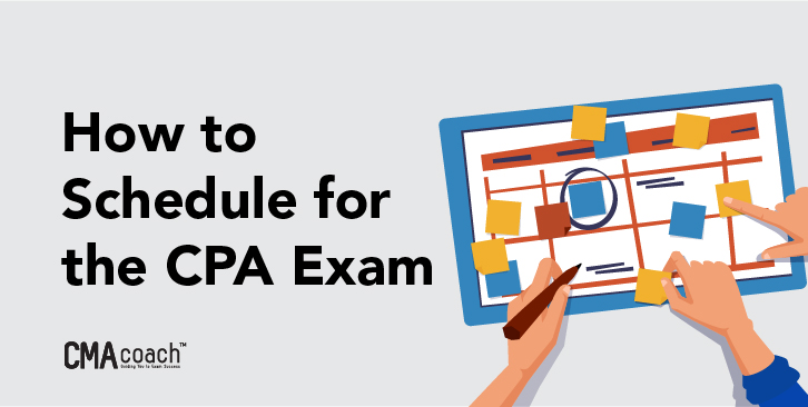 how to schedule for the cpa exam