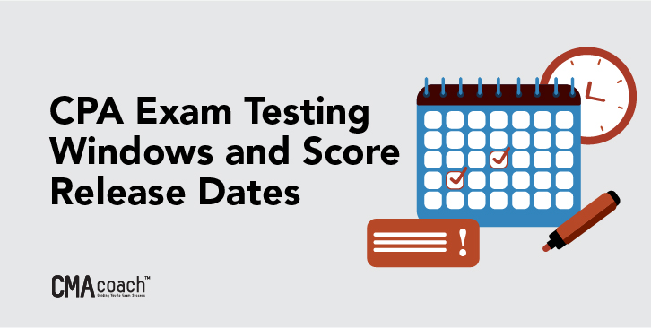 cpa exam dates and testing windows 2020