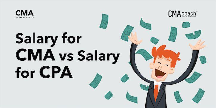 Salary for CMA vs Salary for CPA