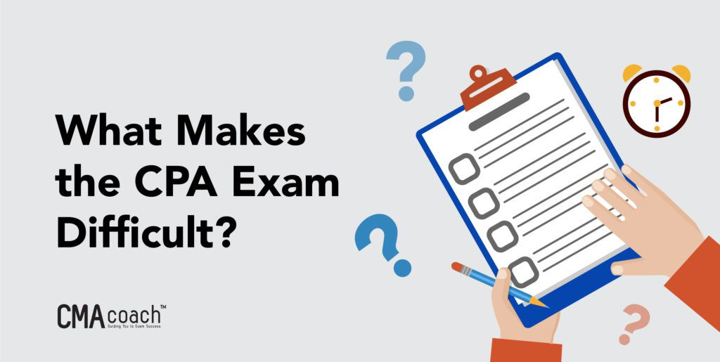 what makes the cpa exam difficult
