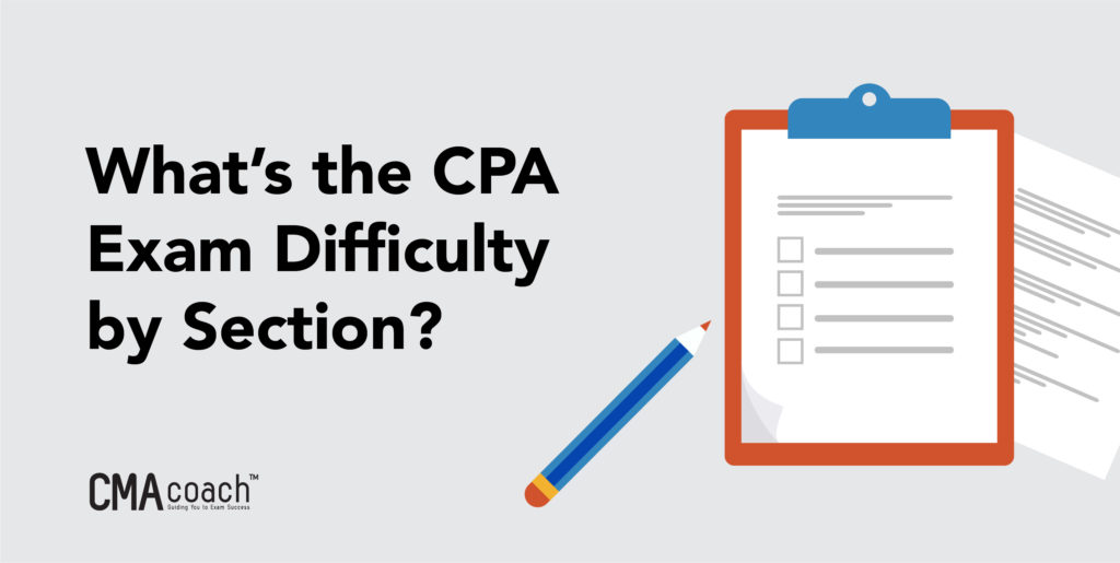 cpa exam difficulty by section