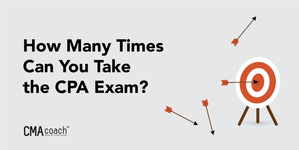 how many times can you take the cpa exam