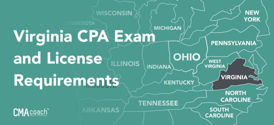 virginia cpa and license requirements