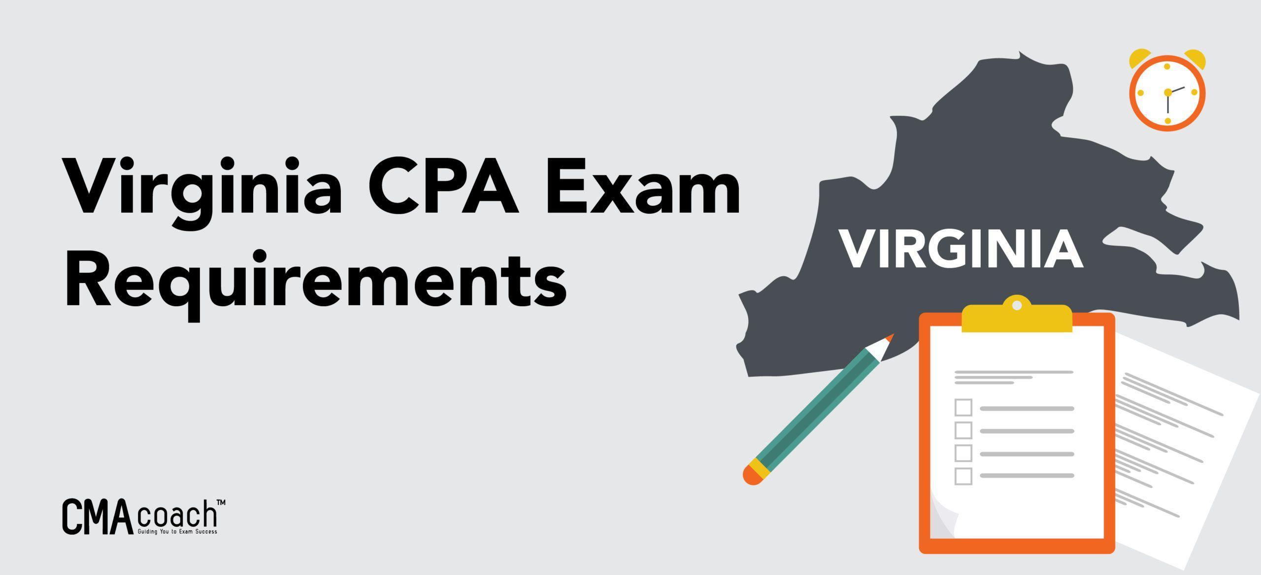 virginia cpa requirements exam