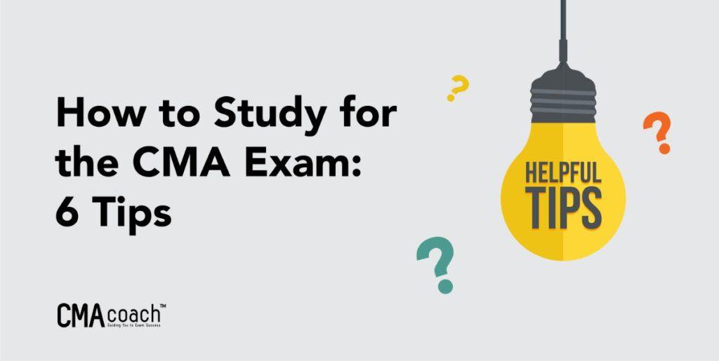 cma study tips