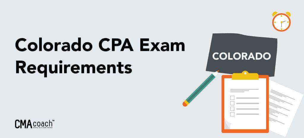 colorado cpa exam requirements