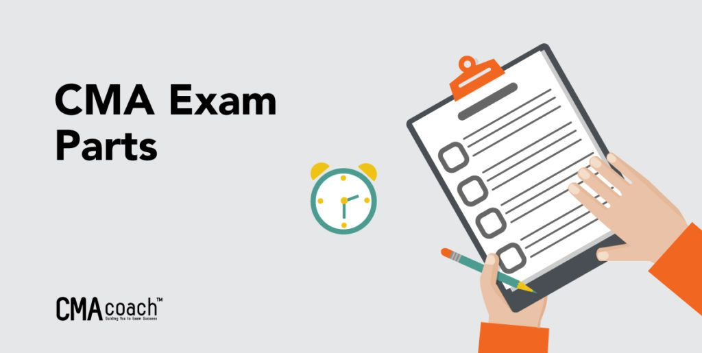 cma exam parts