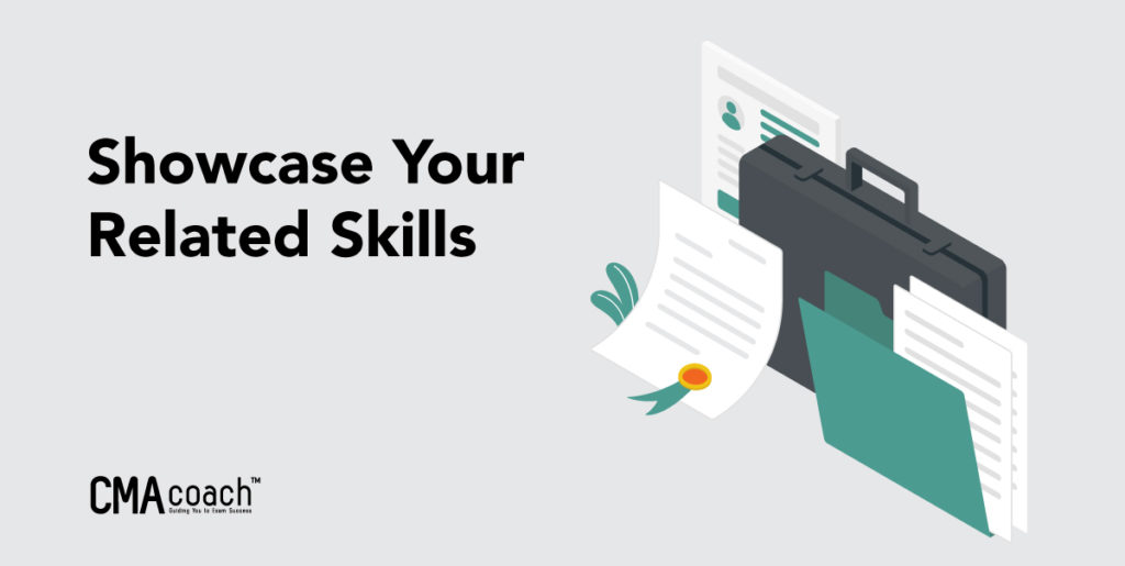 showcase your accounting related skills