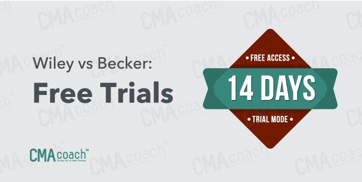 wiley vs becker free trials