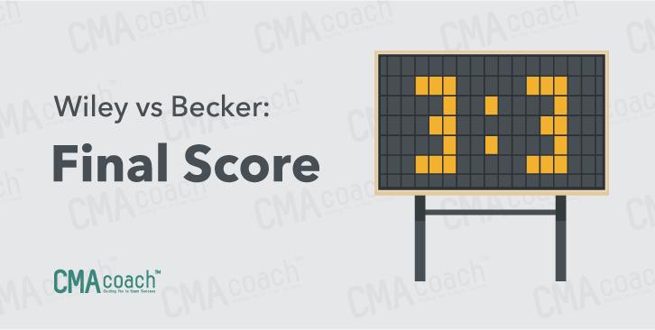 final comparison scores