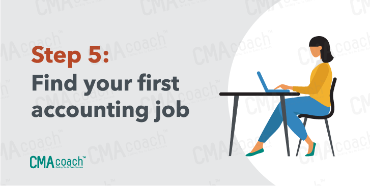 Find your first accounting job