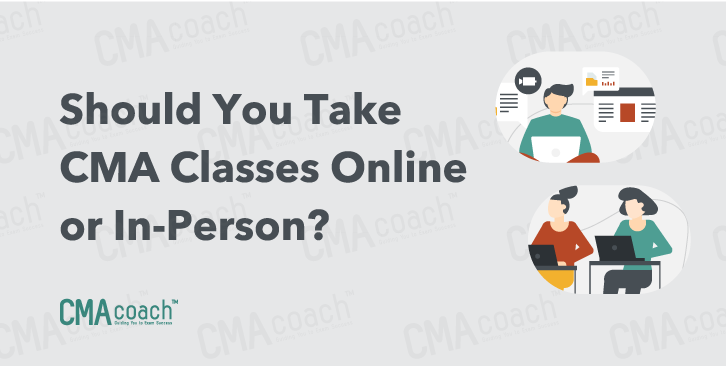 online or in person cma classes?