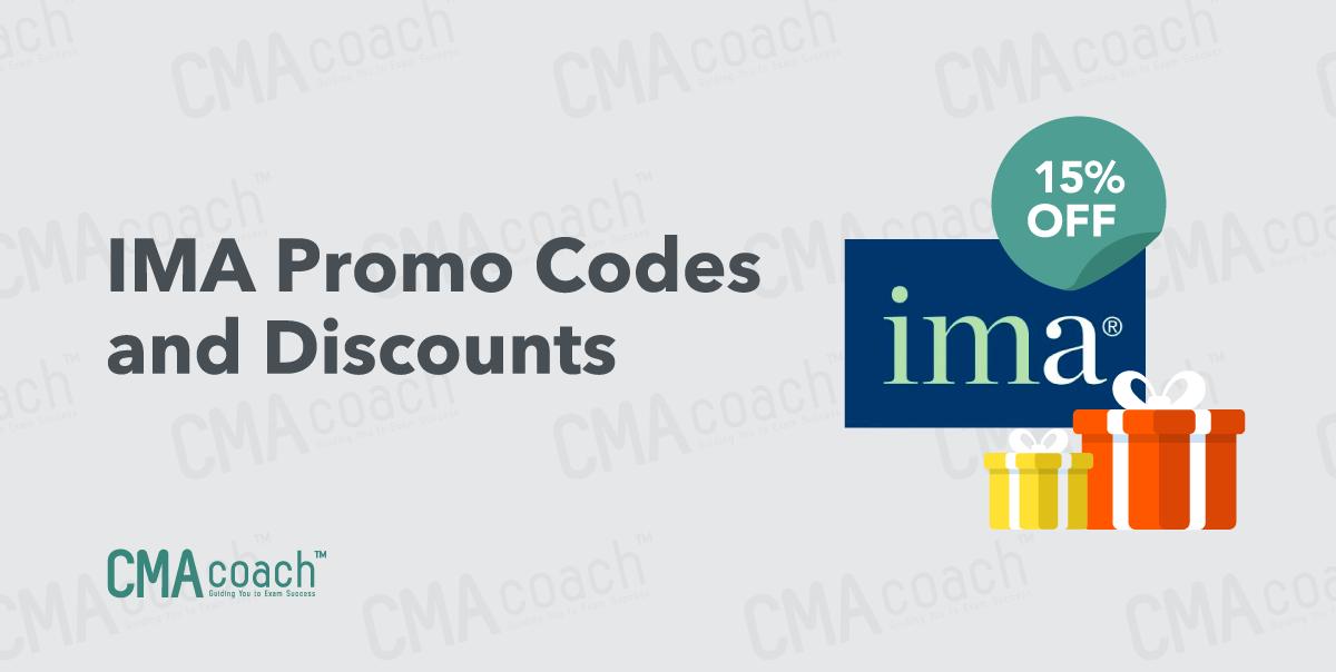 IMA Promo Codes and discounts