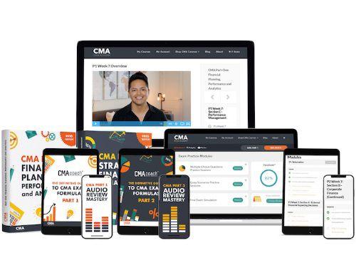 CMA exam academy logo
